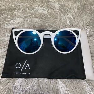 QUAY Cat-Eye Sunglasses